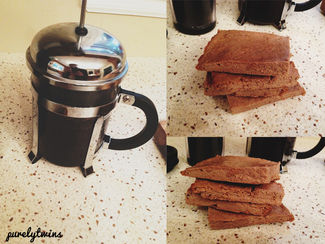 coffee with new plantain bread