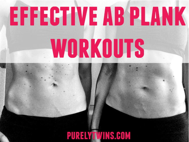 effective ab plank workouts to get strong core purelytwins