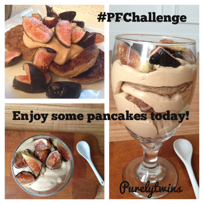 enjoy some pancakes #PFChallenge