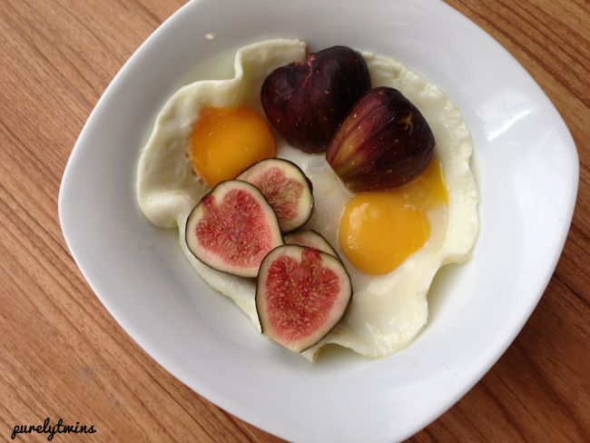 figs eggs breakfast bowl