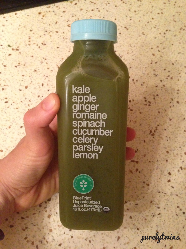 green juice from blue print