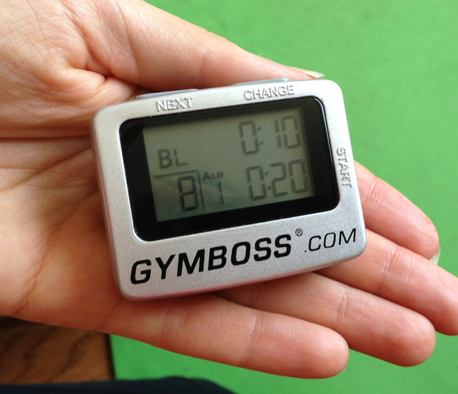 gymboss for tabata workouts