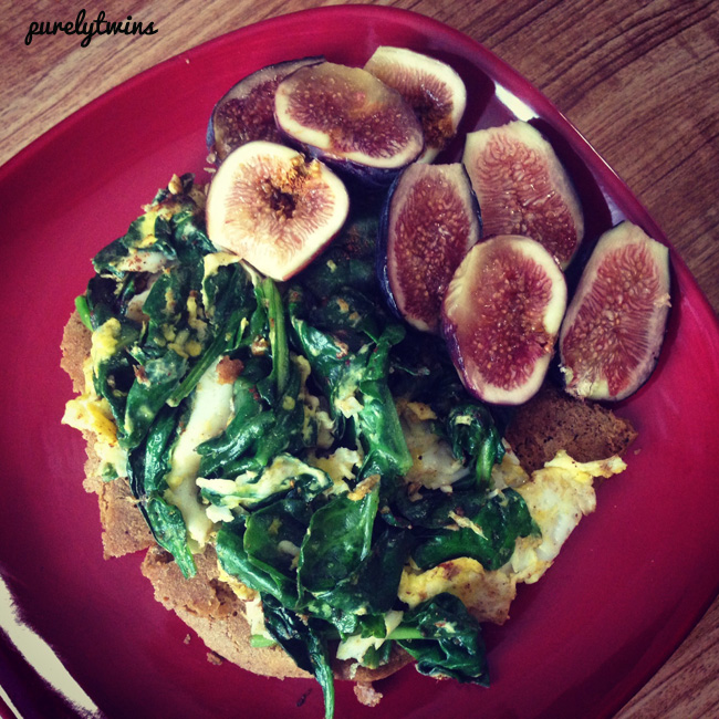michelle protein pancake with figs