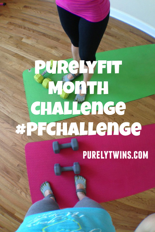 June Purely Fit Challenge details