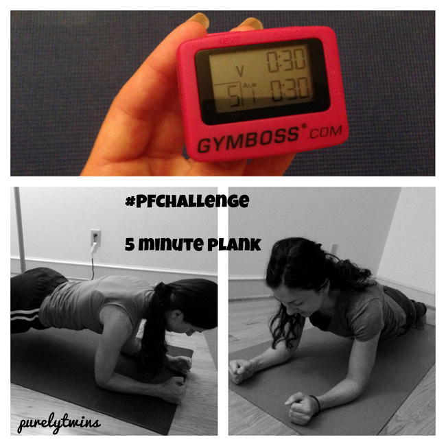 our 5 minute plank workout