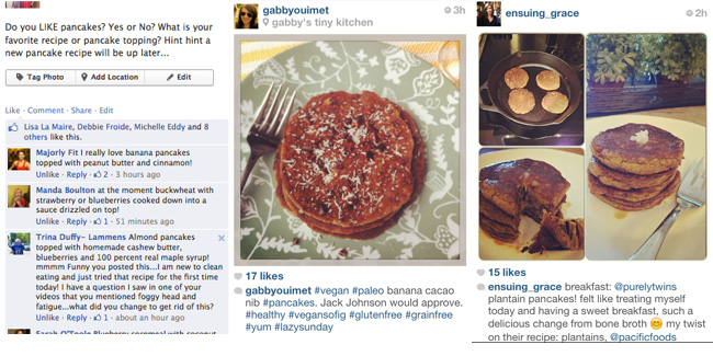pancakes sunday love