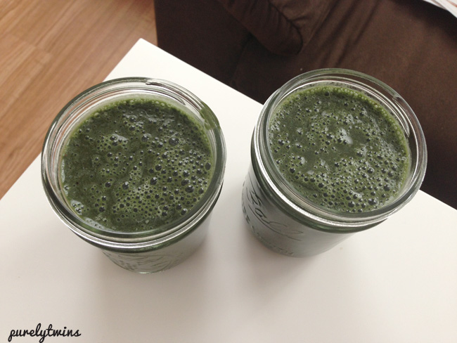 post workout spirulina smoothie