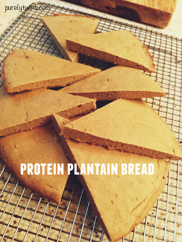 protein plantain bread