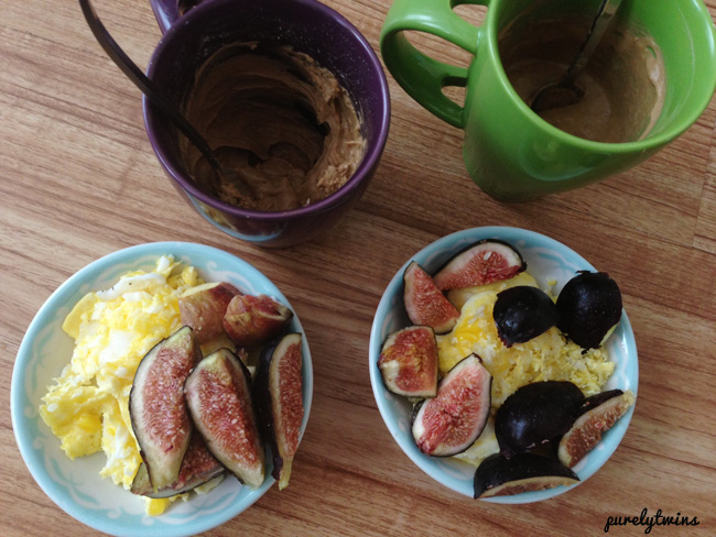 protein shake with eggs figs