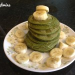 green protein pancakes for lunch