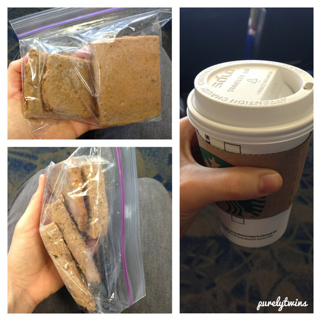 travel food and coffee