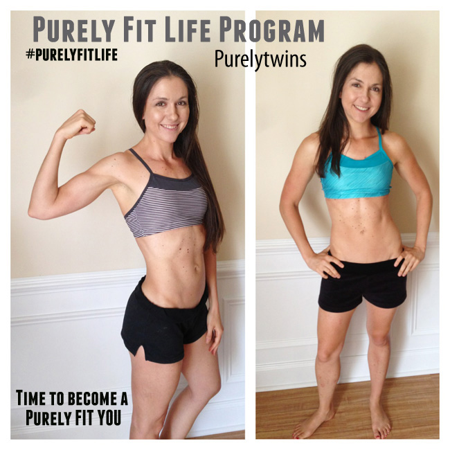 Purelytwins Purely Fit Life Personal Training Program
