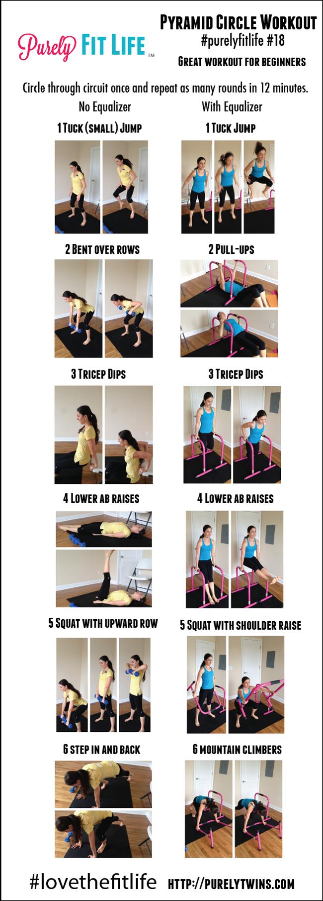Pyramid Circle Workout Using Equalizer Purelyfitlife 18