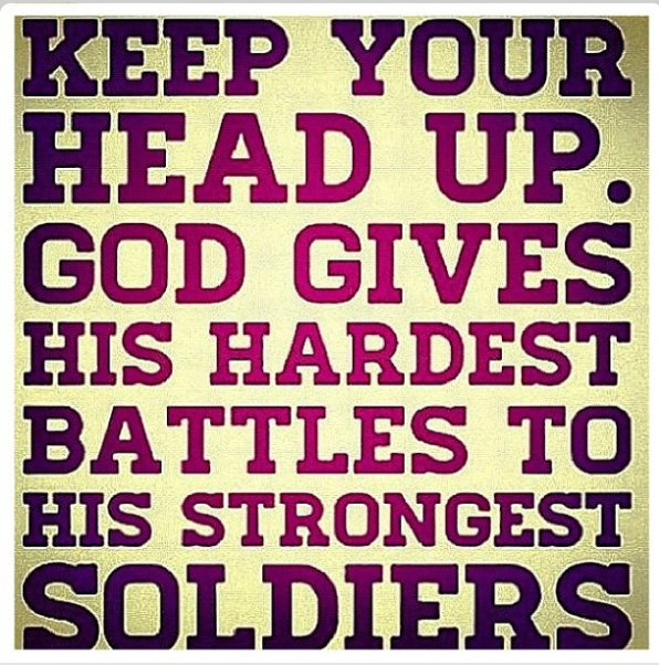 keep head up