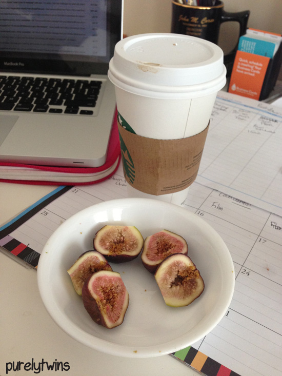 coffee with figs