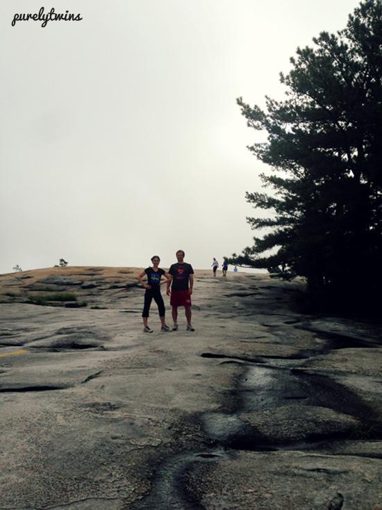 gary and lori hike up