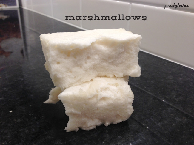 maple homemade marshmallows