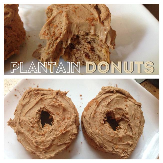 plantain donut