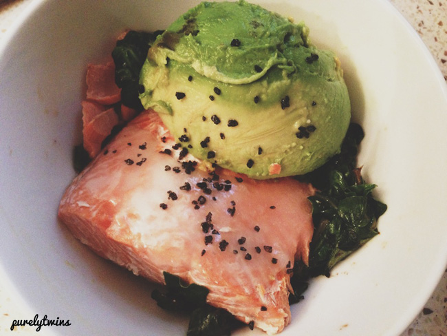 salmon dinner simple