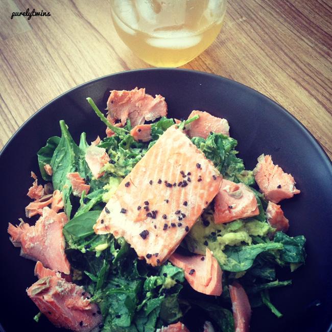 salmon dinnerr