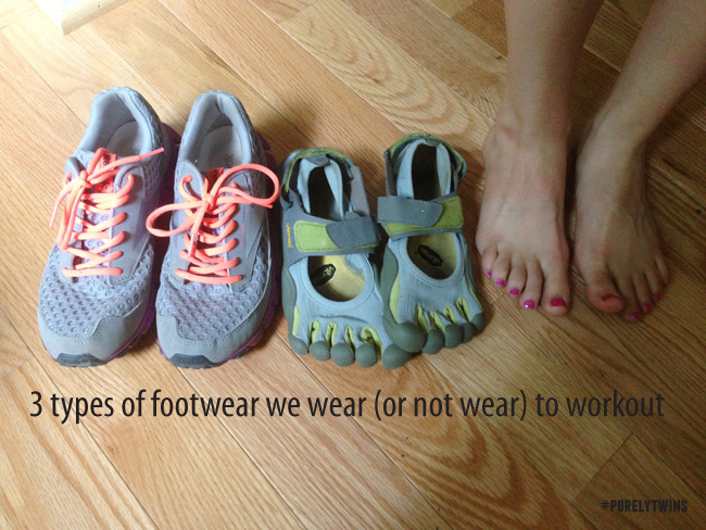 tennis shoes vibram five finers and bare feet options for working out