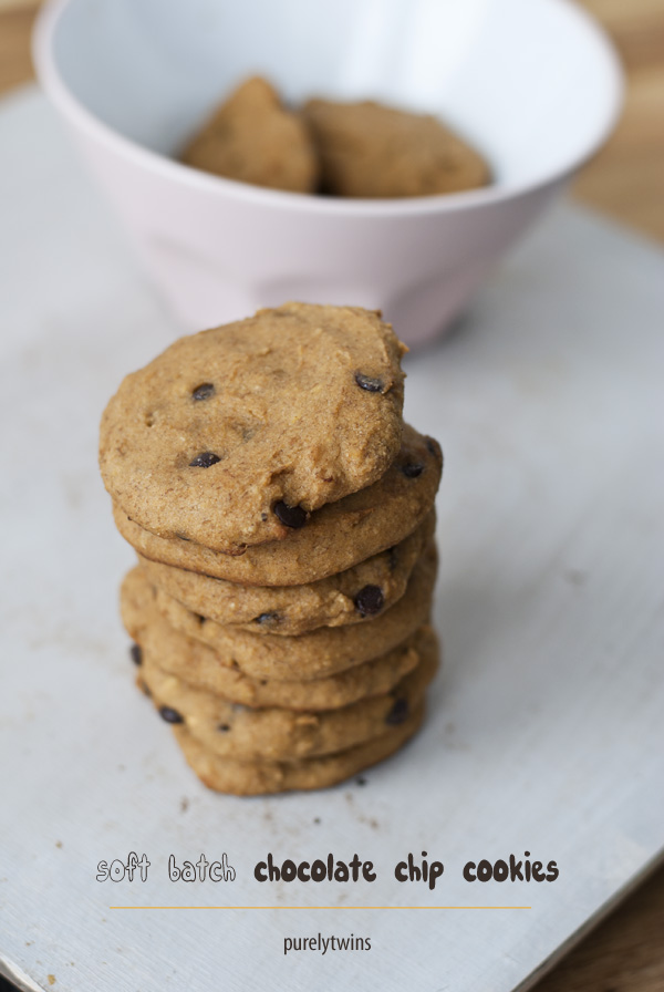 soft batch chocolate chip grain free cookies
