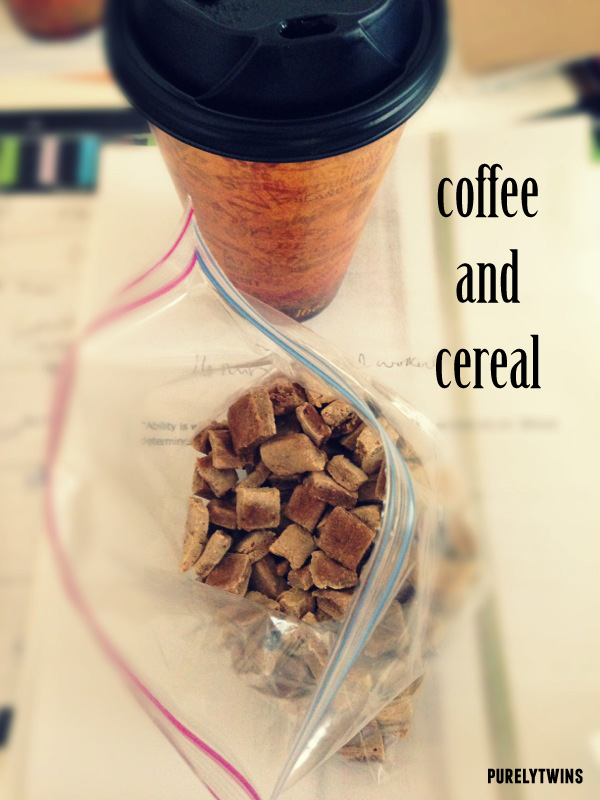 cereal coffee snack