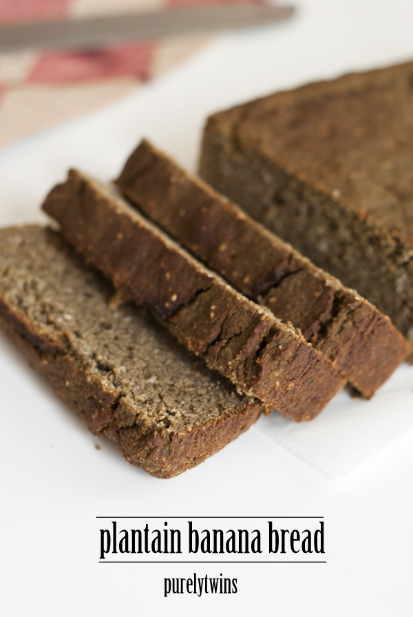 egg free protein banana bread