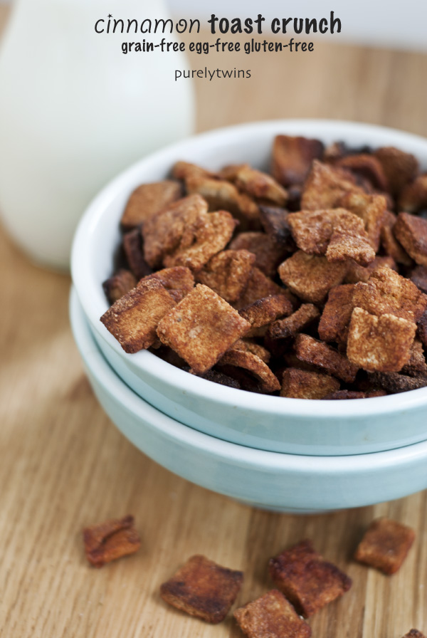 gluten free healthy cinnamon toast crunch cereal