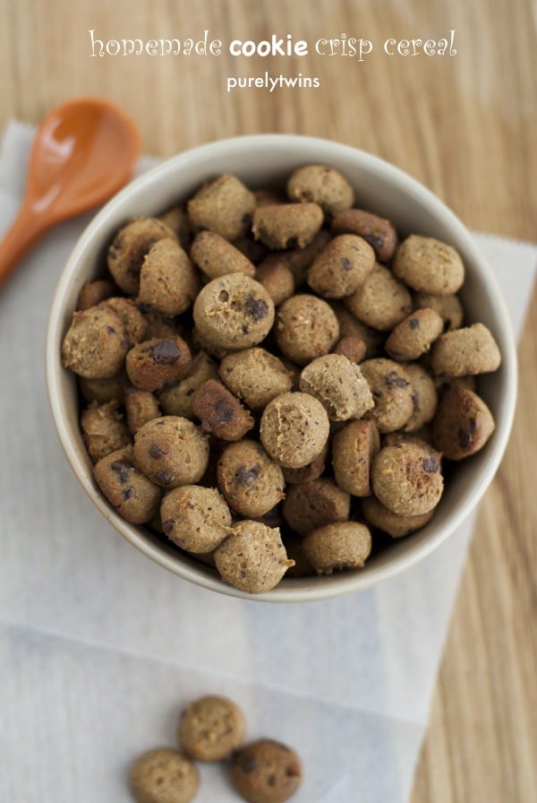 gluten free protein egg free cookie crisps cereal