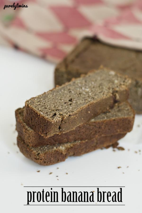 grain free protein banana bread