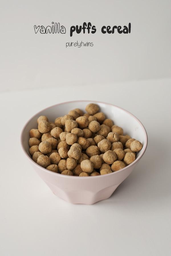 homemade vanilla gluten-free puffs cereal