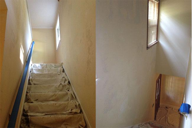 prepping walls