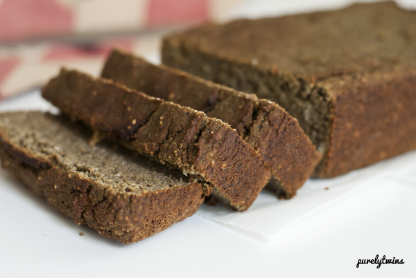 protein banana bread (gluten, grain, soy, nut and egg free)