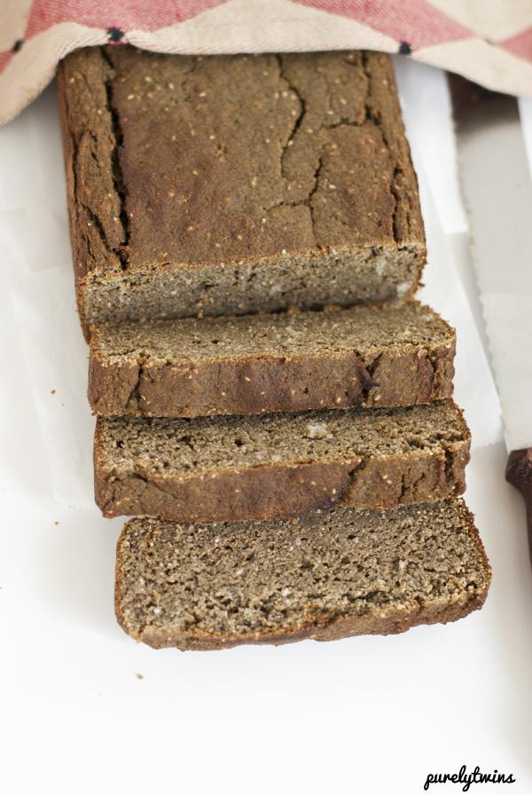 protein grain free banana bread