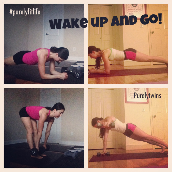 wake up and go - purelyfitlife