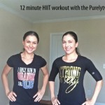 12 minute full body interval HIIT #purelyfitlife workout