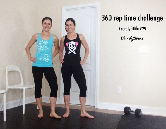 360 rep time challenge workout