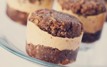 no bake pecan peach sandwiches
