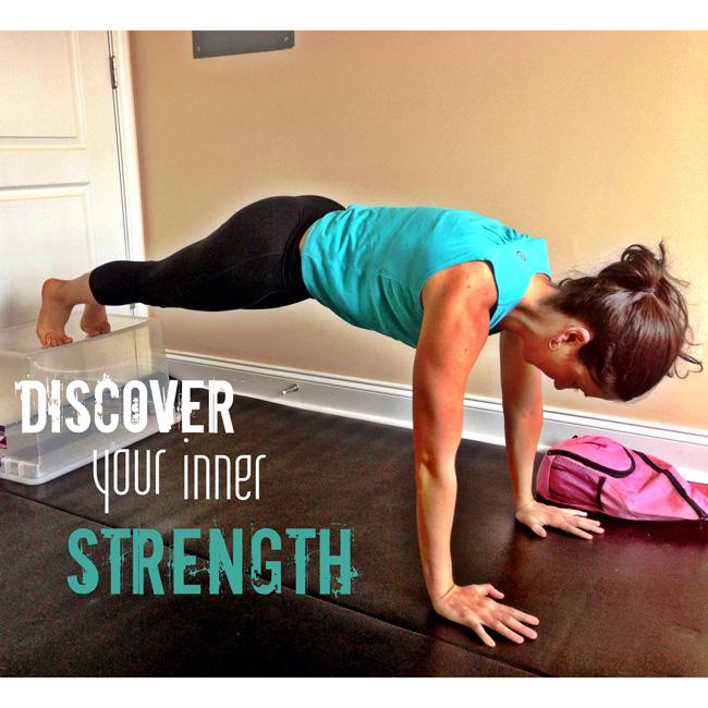 discover innner strength