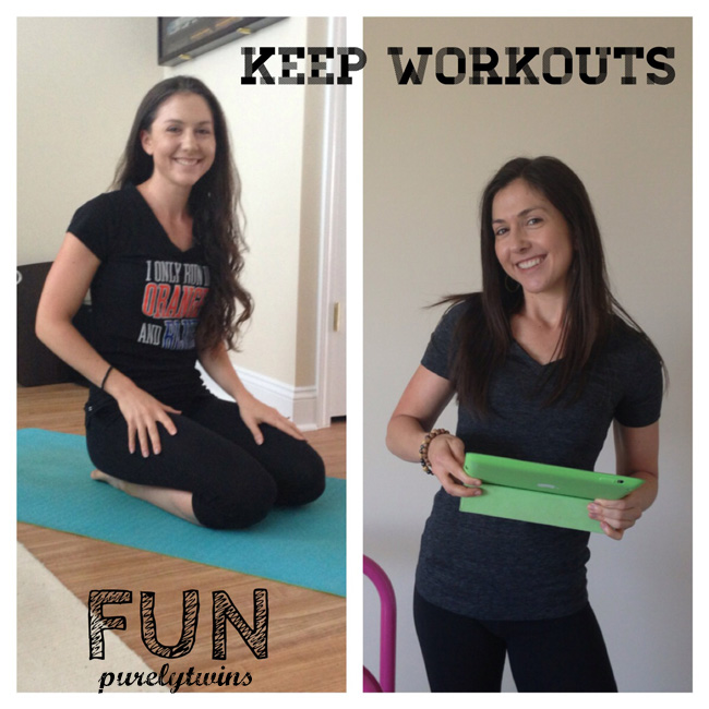 keep workouts fun