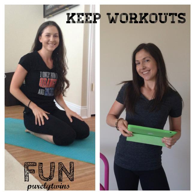 keep workouts fun