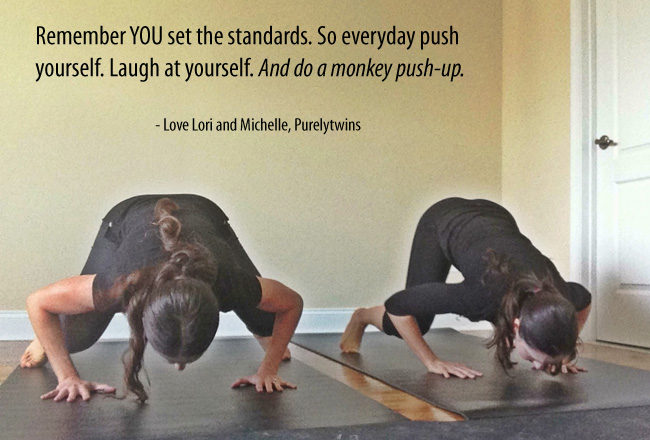 monkey push-up