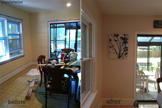 more before after of room