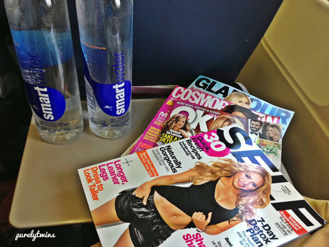smart water and magazines