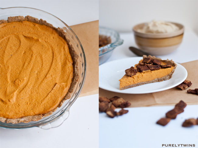 vegan dairy pumpkin pie