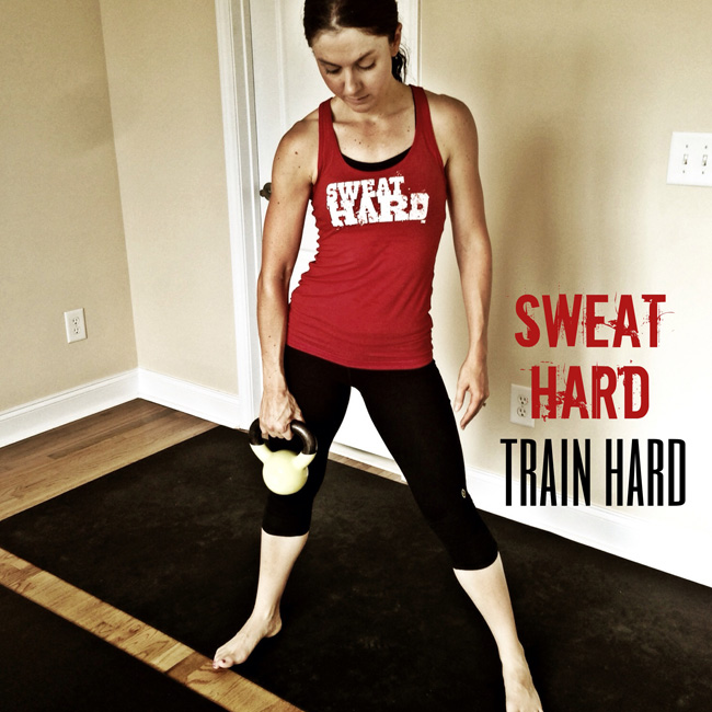 train hard sweat hard
