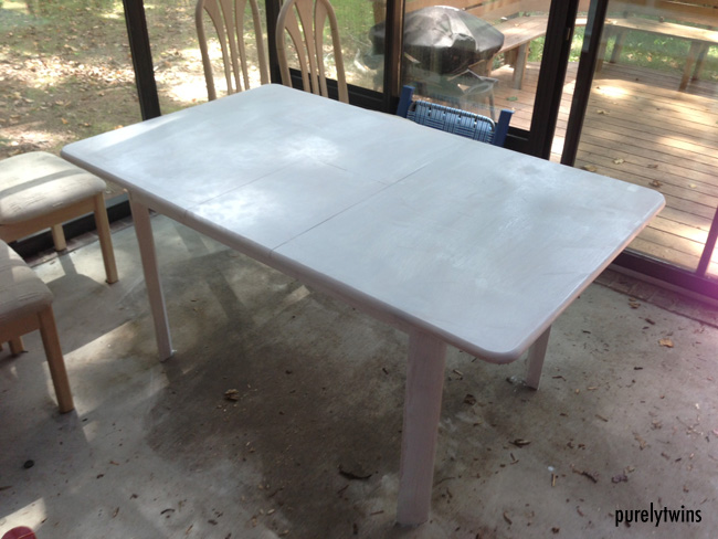 base layer on table