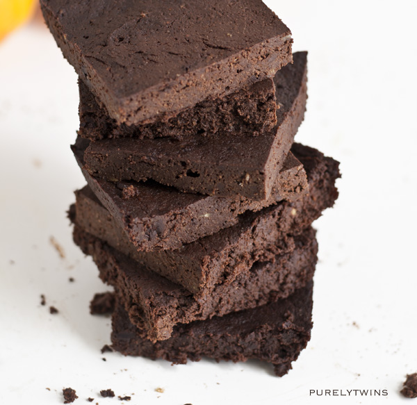 fudgy flourless chocolate brownie recipe