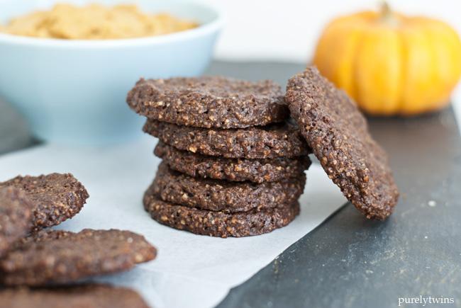 cocoa hazelnut cookies